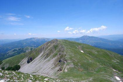 Panorama da Monte Alpi