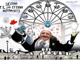 La ruota gira nella Salerno delle luci 2016.