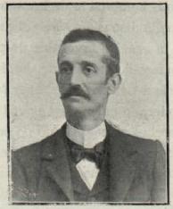 Fig. 2 León Guallart, médico y principal valedor de la Sociedad Azucarera de Tudela en 1900