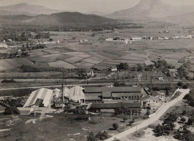 Fig. 1 FASA desde el aire. Cortesía de F.Sayas