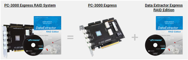 PC-3000 Express + Data Extractor Express RAID Edition