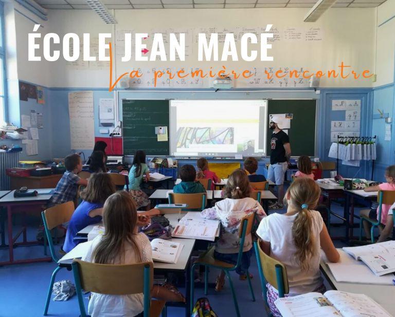 École Jean Macé : la première rencontre !