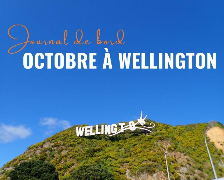Octobre à Wellington : nouvel HelpX, changement d'heure et vacances des élèves