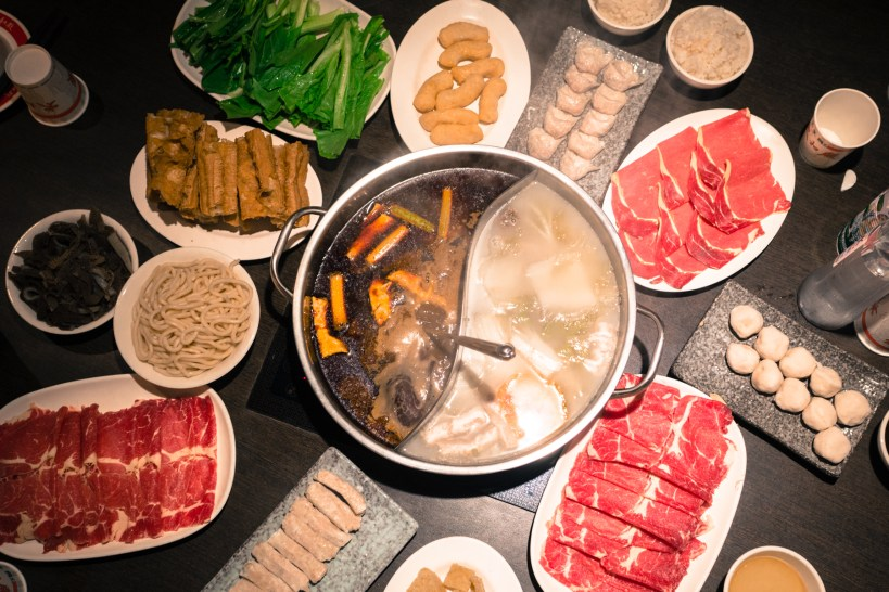 hot pot taiwanais