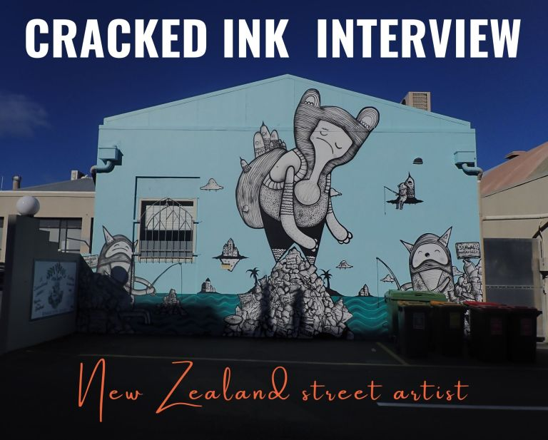 Cracked Ink interview | New Zealand street-artist