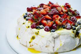 pavlova gâteau nouvelle-zélande