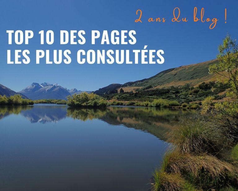 Les 2 ans du blog : top 10 des pages les plus consultées !