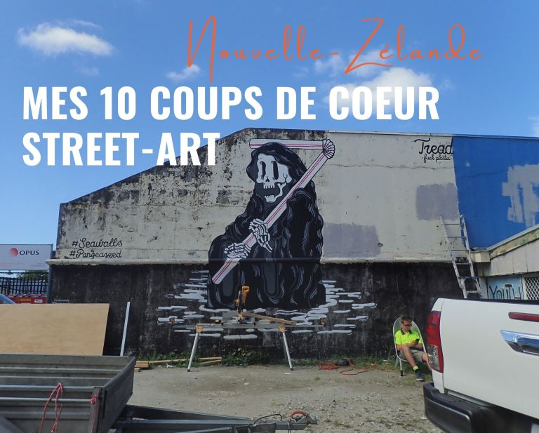 Mes 10 coups de coeur street-art en Nouvelle-Zélande