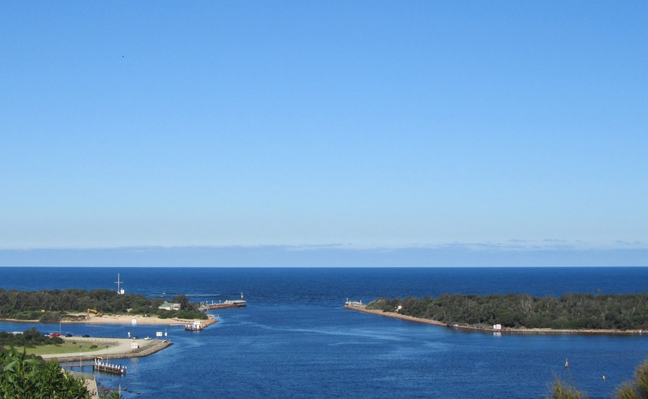 Scenic View Gippsland Lakes Entrance