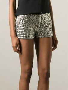 ROSEANNAmetallic shorts