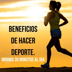Beneficios de ejercitarse 30 minutos al día