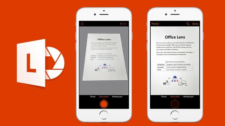 Je aantekeningen scannen en handig bewerken en opslaan?!… Office Lens