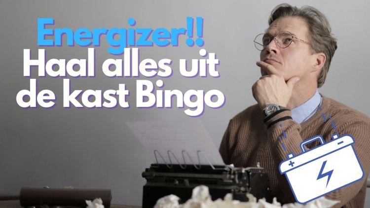 Energizer – Haal alles uit de kast bingo