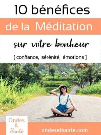 10 bénéfices de la méditation sur votre motivation et vos émotions Comment la méditation va changer votre vie ? Si vous êtes souvent tendu, irrité… la méditation est un bon moyen de prendre du recul sur vous-même. Réduire le stress dans un premier temps et vous permettre de vous transformer et d'être plus heureux au quotidien ! Voici 10 bénéfices de la méditation expliqués pas à pas.