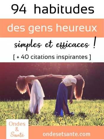 94 principes et 40 citations pour être heureux et zen au quotidien. Réduire le stress, élever notre niveau de conscience, apprendre de nos erreurs, vivre zen…