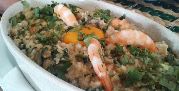 a toca by chef açorda camarão restaurante margem sul
