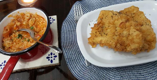 restaurante raizes comida tradicional portuguesa santos lisboa filetes com arroz berbigao