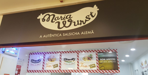 novidade onde vamos jantar maria wurst salsichas alemas oeiras parque
