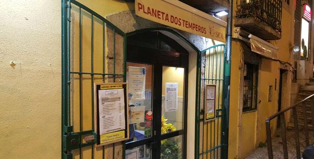 planeta dos temperos tasca comida portuguesa santos sao bento grupos lisboa