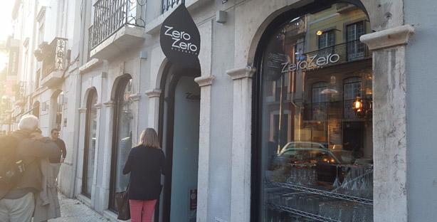 zero zero pizzeria restaurante italiano pizzas pastas principe real lisboa exterior