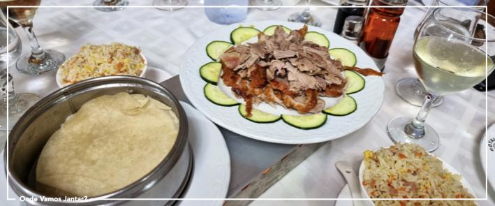 restaurante chinês royal pato lacado