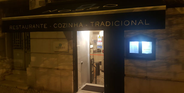 restaurante nosso cozinha tradicional portuguesa grupos menu de almoço praça de espanha lisboa