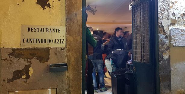 O CANTINHO DO AZIZ Restaurante Mouraria
