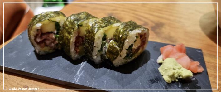 atalho do cais sushi de carne
