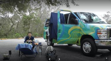 ondevan campervan road trip picnic fort lauderdale key west florida
