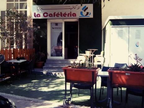 Entrée de La cafétéria
