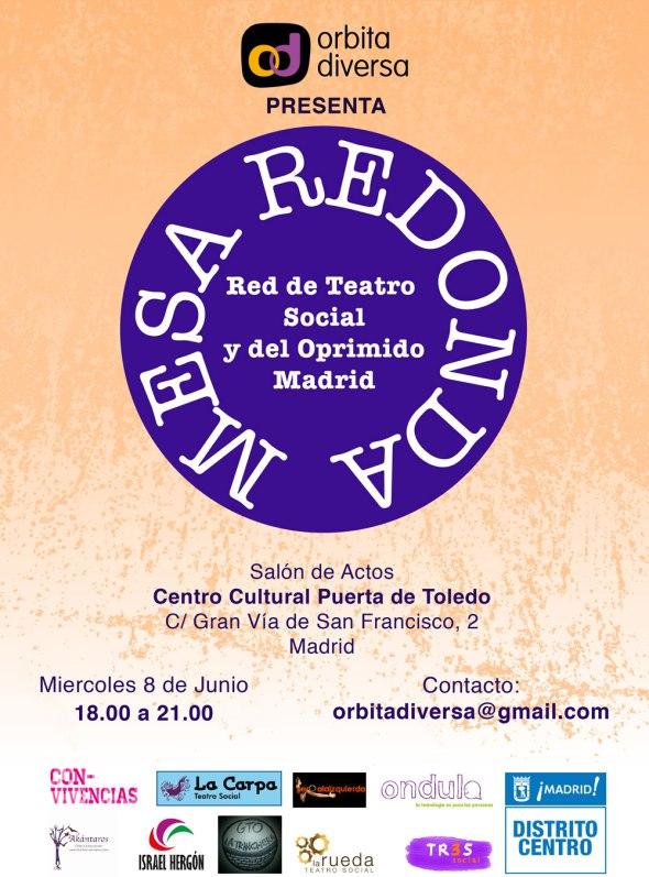 mesa redonda teatro social festival convivencias
