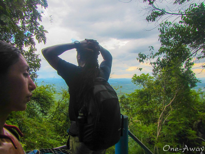 A challenging climb to Tiger Cave Temple Viewpoint