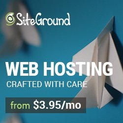 SiteGround Web Hosting from $3.95/mo