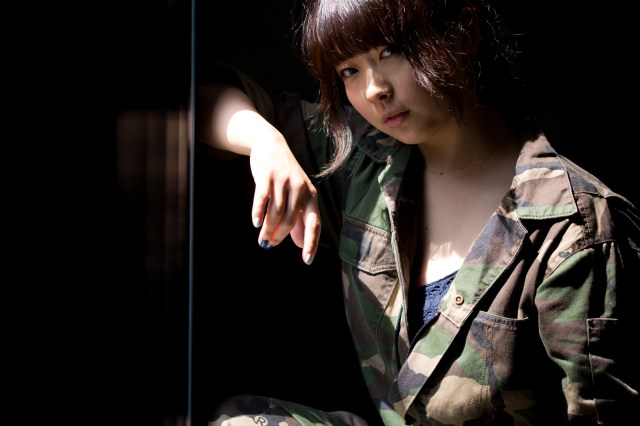 cool girl portrait