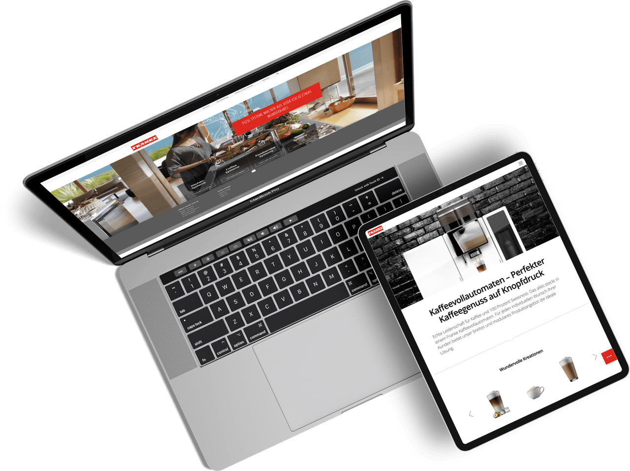 Franke Website Relaunch by One Inside
