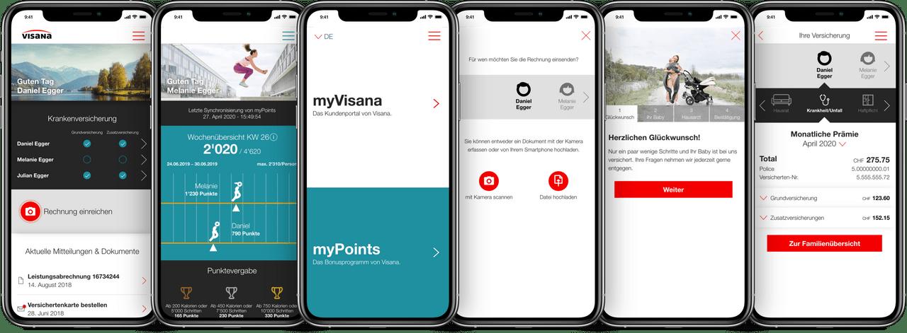Visana App
