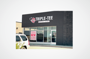 Triple Tee Medical Clinic laser cut sign