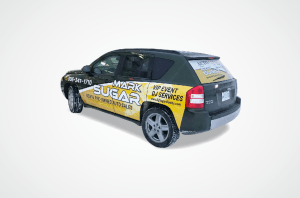 Mark Sugar SUV Wrap