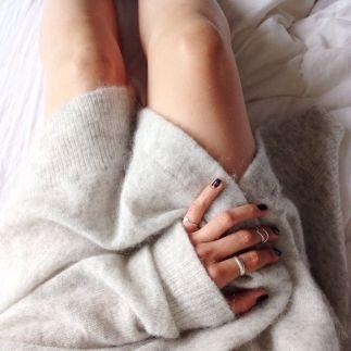 Basiques: le pull cachemire, indispensable pour l'hiver!