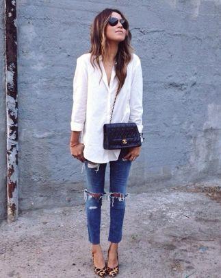 Les basiques : la chemise blanche