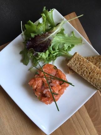 Recette du tartare de saumon trop bon ❤️