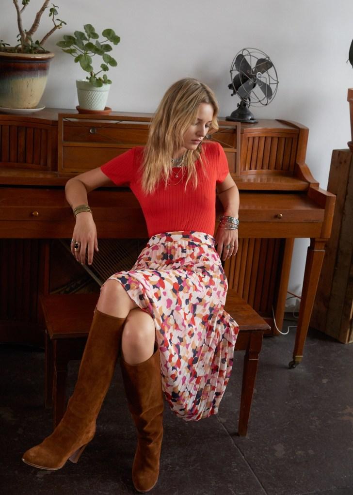 Comment porter la jupe en automne/hiver et ma petite sélection du moment ?