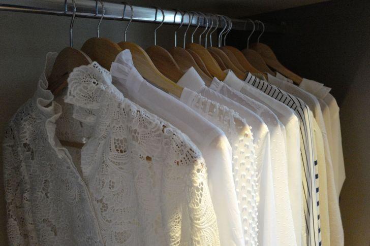 Rangement et organisation de la garde-robe