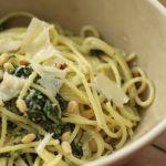 Recette des spaghetti aux épinards & à la ricotta
