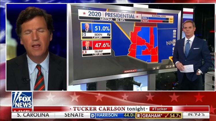 Tucker Carlson Tonight - 11/4/20 | Fox News | One-News