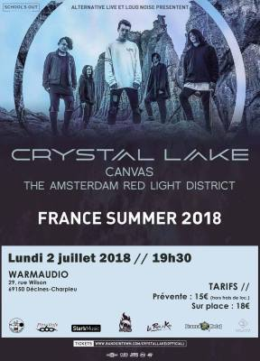 crystal lake canvas the Amsterdam red-light district warmaudio school's out production alternative live