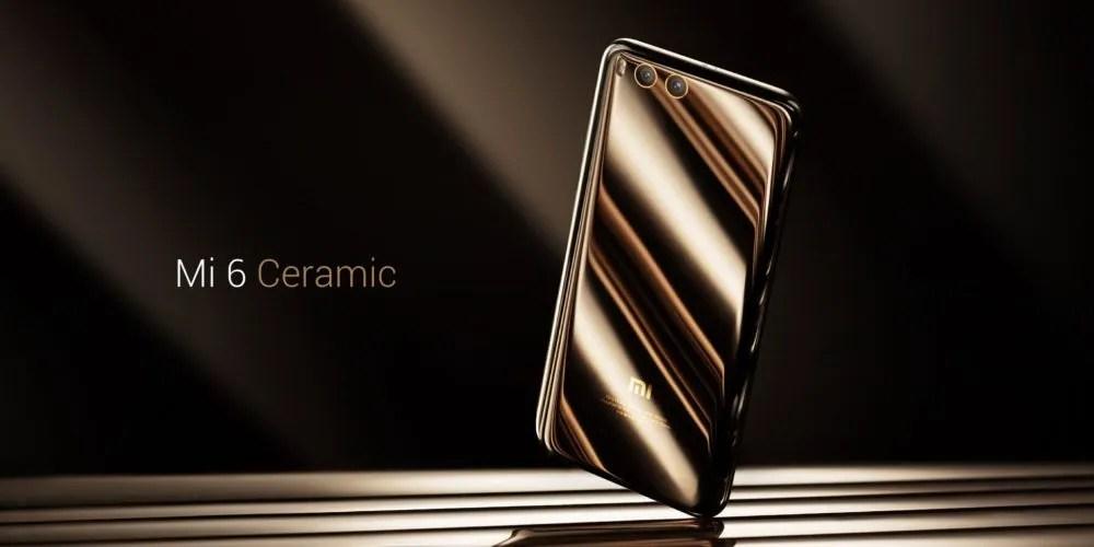 Xiaomi Mi 6 ceramica