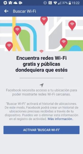 Buscar Wifi - Facebook