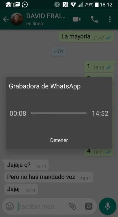 WhatsApp mejora notablemente el envío de audios, aún saliendo de la app