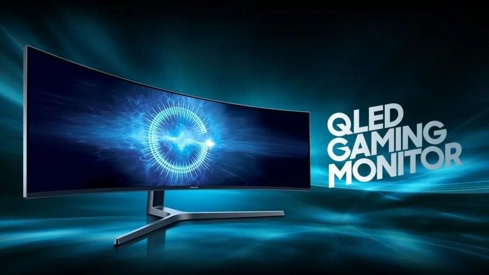 Samsung QLED gaming monitor